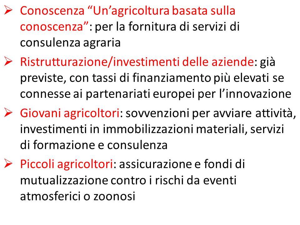 Conoscenza Un'agricoltura basata sulla conoscenza : per la fornitura di servizi di consulenza agraria