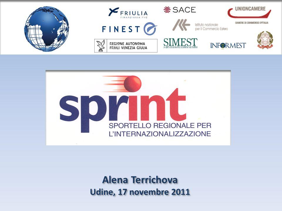 Alena Terrichova Udine, 17 novembre 2011