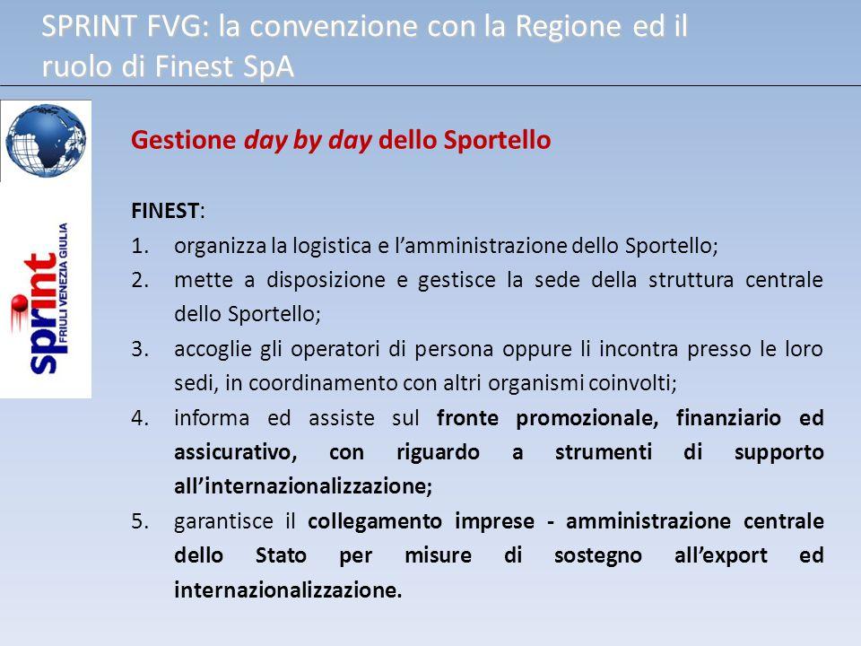 SPRINT FVG: la convenzione con la Regione ed il ruolo di Finest SpA