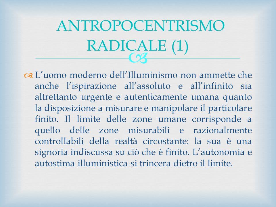 ANTROPOCENTRISMO RADICALE (1)