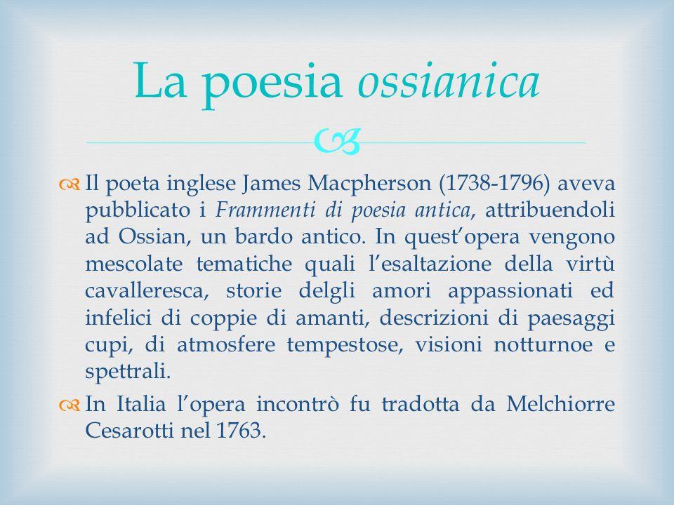 La poesia ossianica