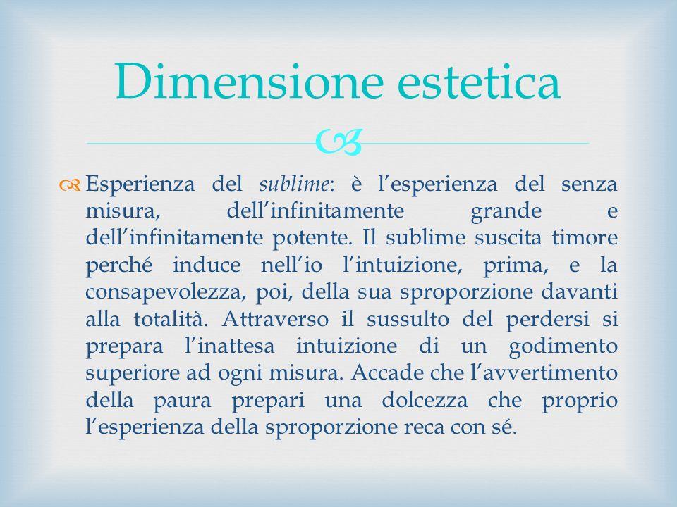 Dimensione estetica