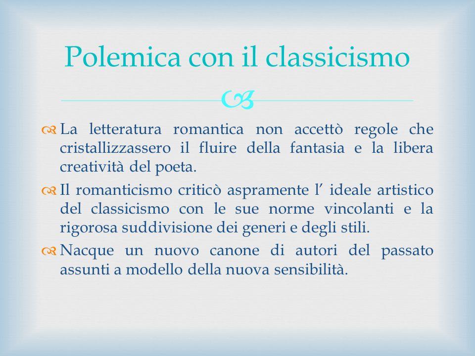 Polemica con il classicismo