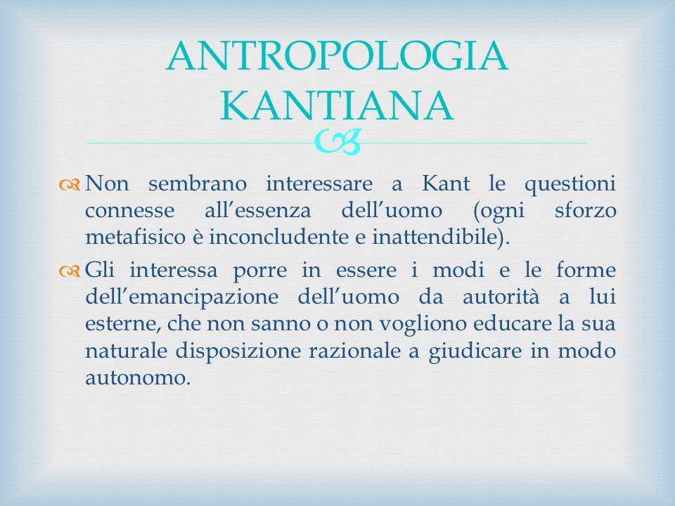 ANTROPOLOGIA KANTIANA