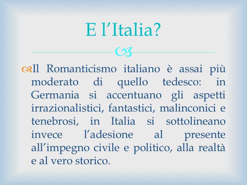 E l'Italia