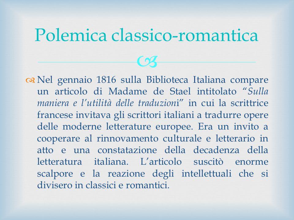 Polemica classico-romantica