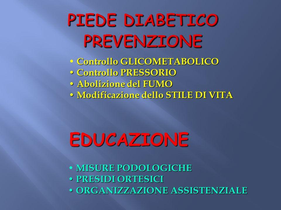 PIEDE DIABETICO PREVENZIONE