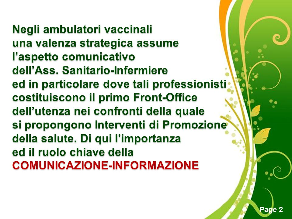 Negli ambulatori vaccinali
