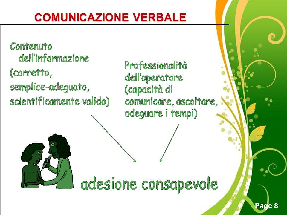 COMUNICAZIONE VERBALE