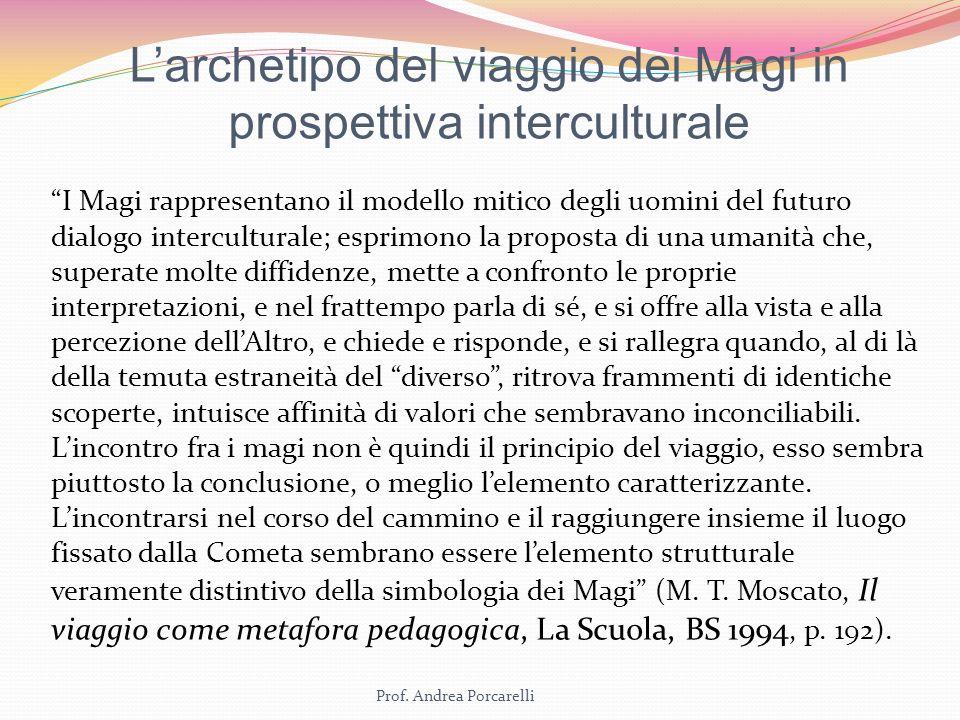 L'archetipo del viaggio dei Magi in prospettiva interculturale