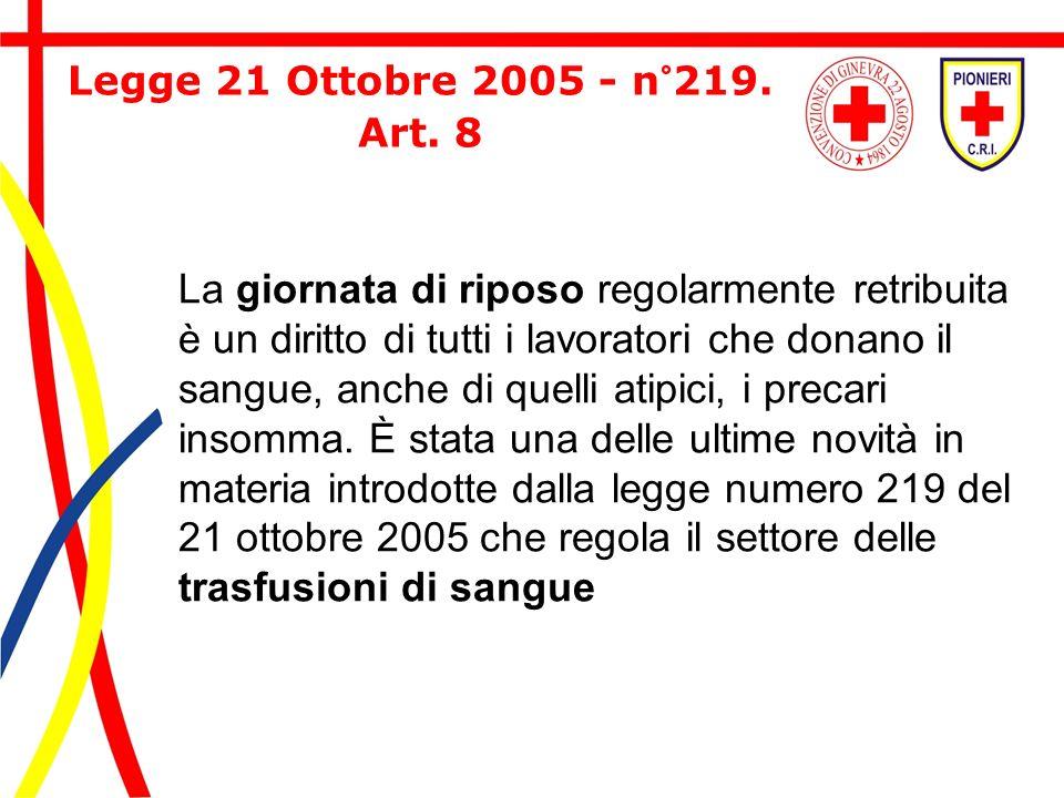 Legge 21 Ottobre 2005 - n°219. Art. 8