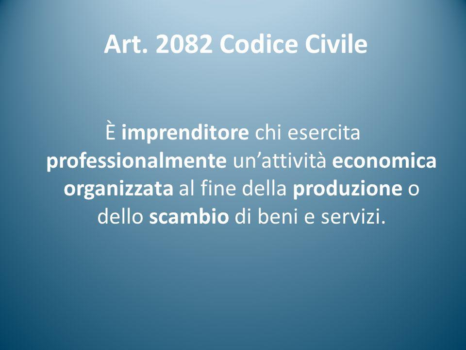 Art. 2082 Codice Civile