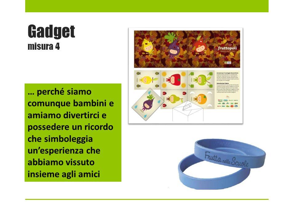 Gadget misura 4