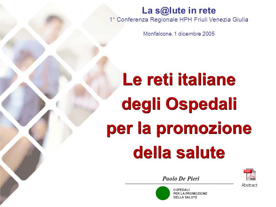 Le reti italiane degli Ospedali