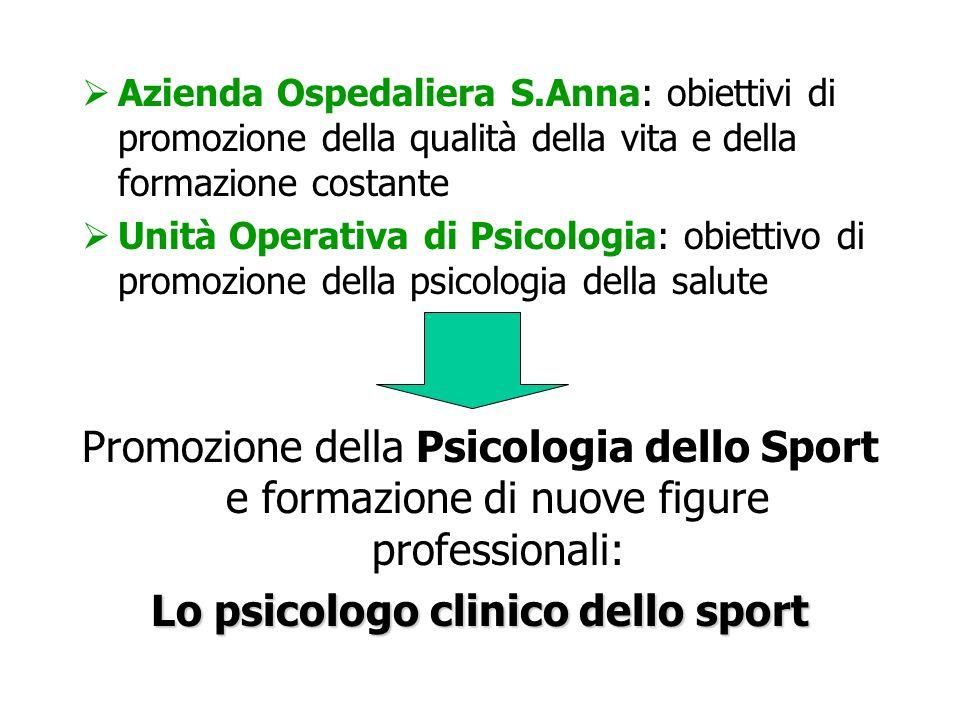 Lo psicologo clinico dello sport
