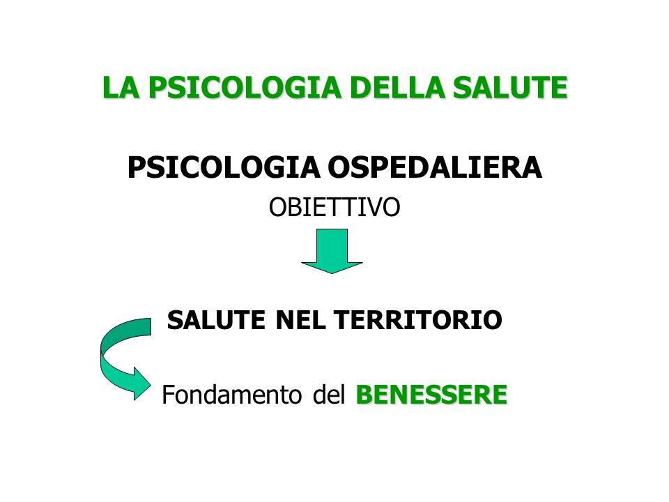 LA PSICOLOGIA DELLA SALUTE