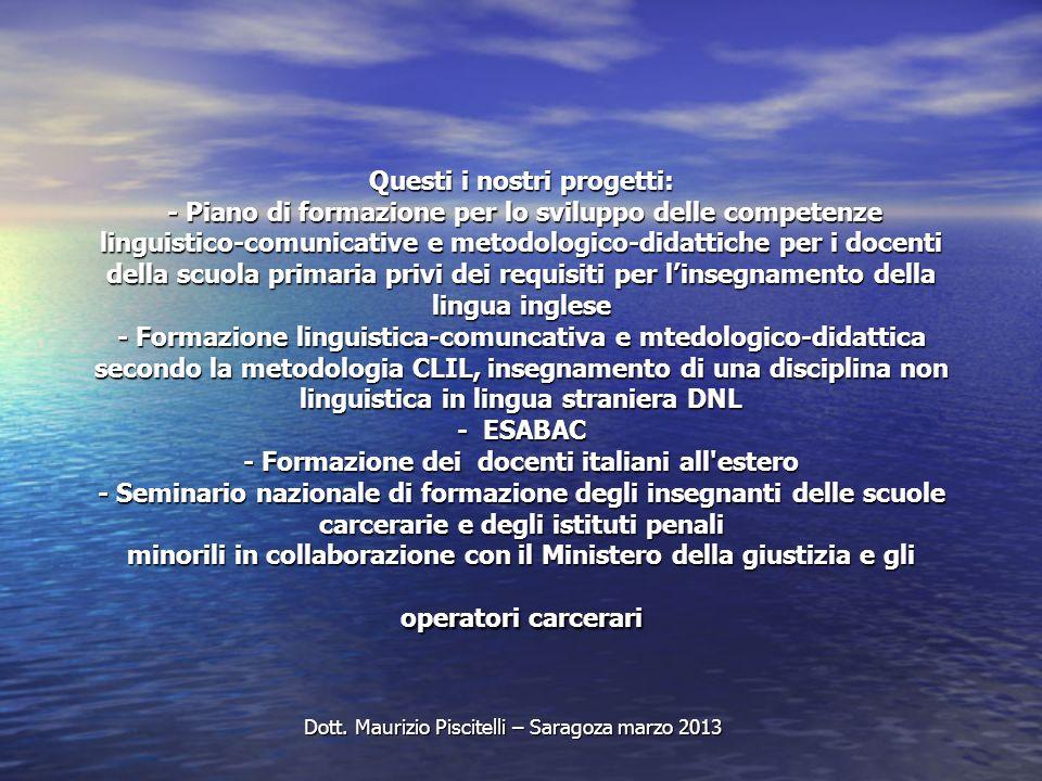Dott. Maurizio Piscitelli – Saragoza marzo 2013
