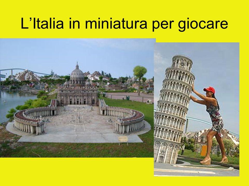 L'Italia in miniatura per giocare