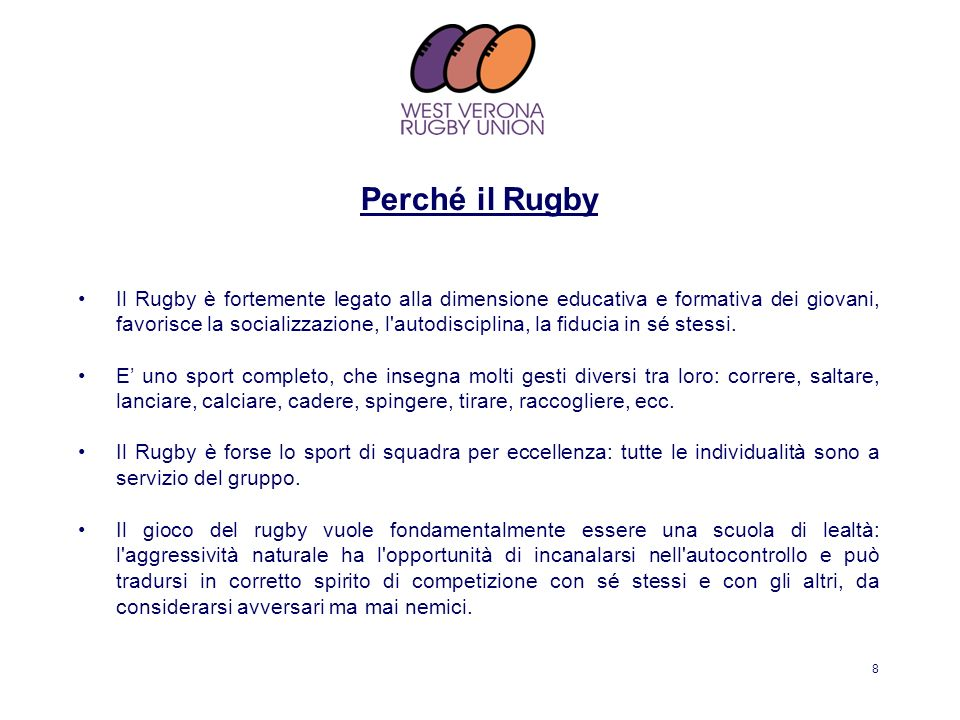 Perché il Rugby