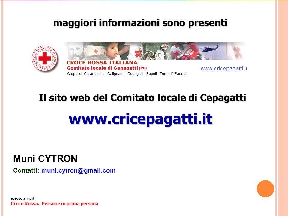 www.cricepagatti.it maggiori informazioni sono presenti