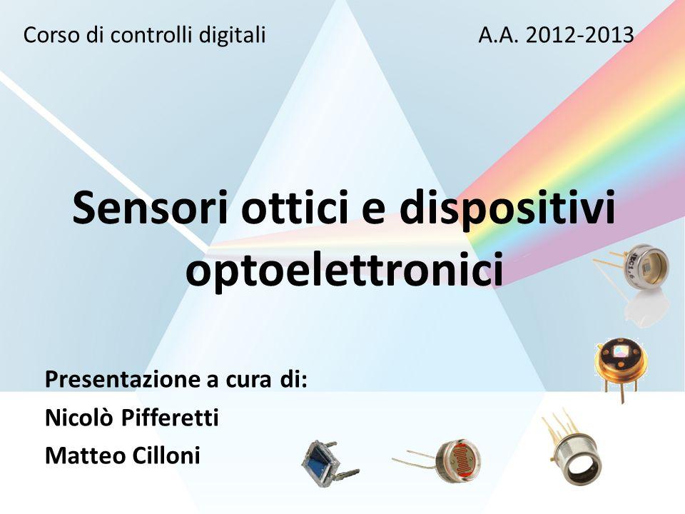 Sensori ottici e dispositivi optoelettronici