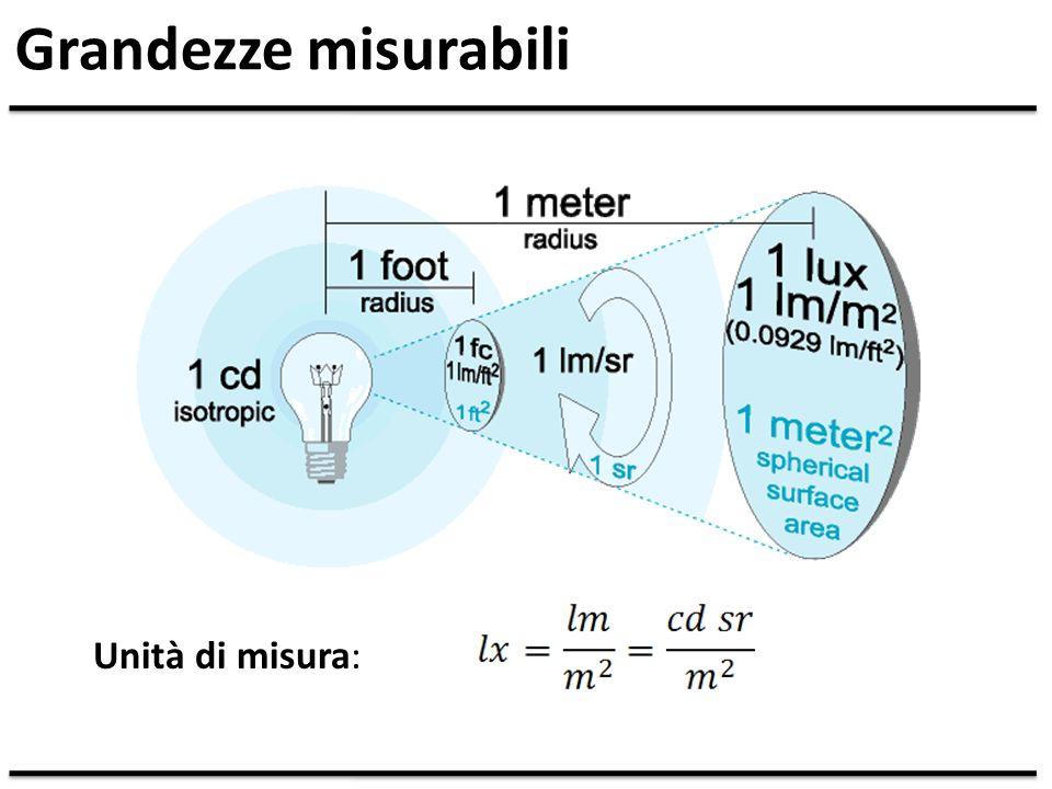 Grandezze misurabili Unità di misura: