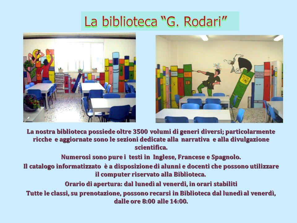La biblioteca G. Rodari