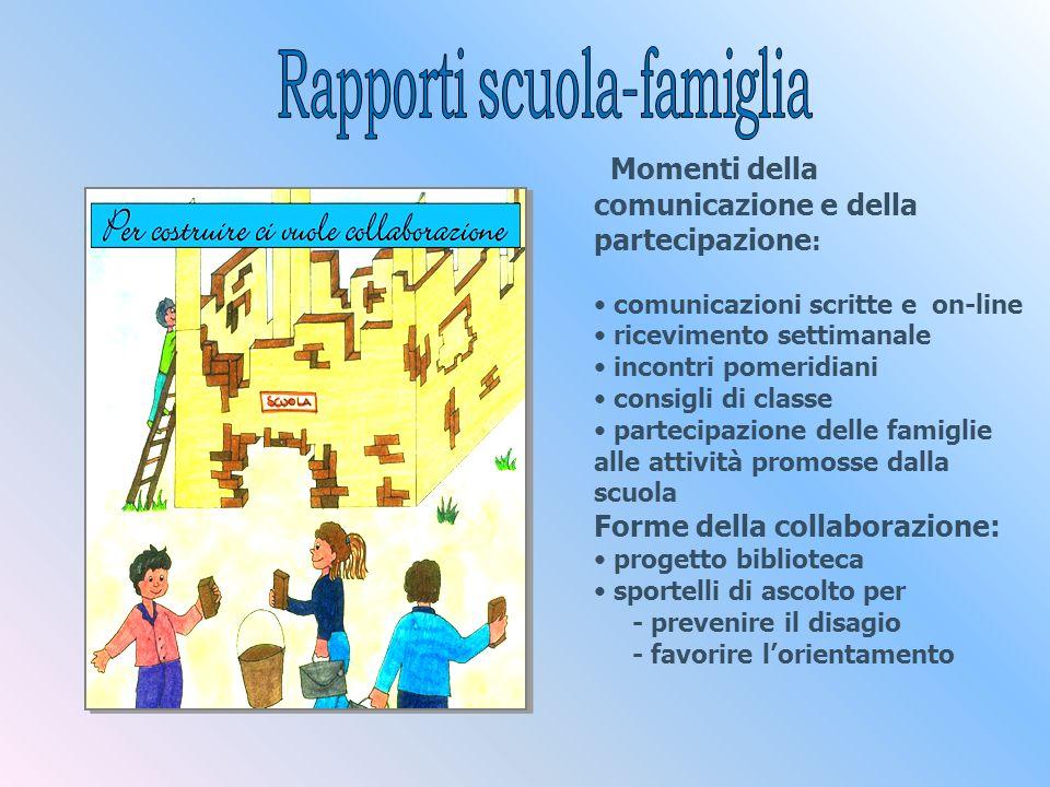 Momenti della comunicazione e della partecipazione:
