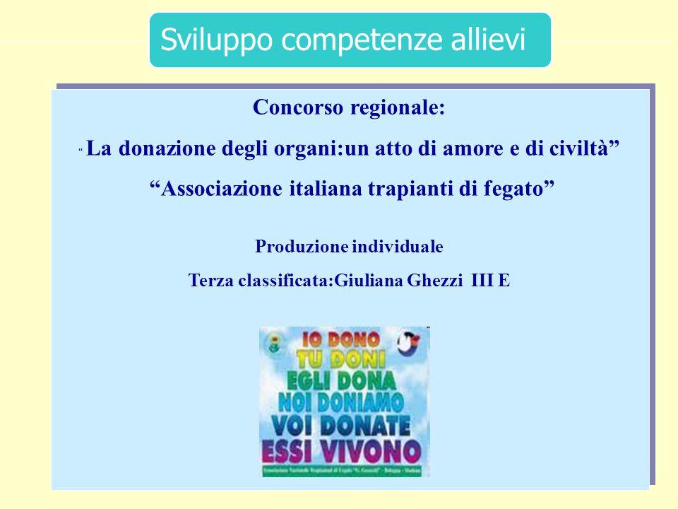 Concorso regionale: Associazione italiana trapianti di fegato