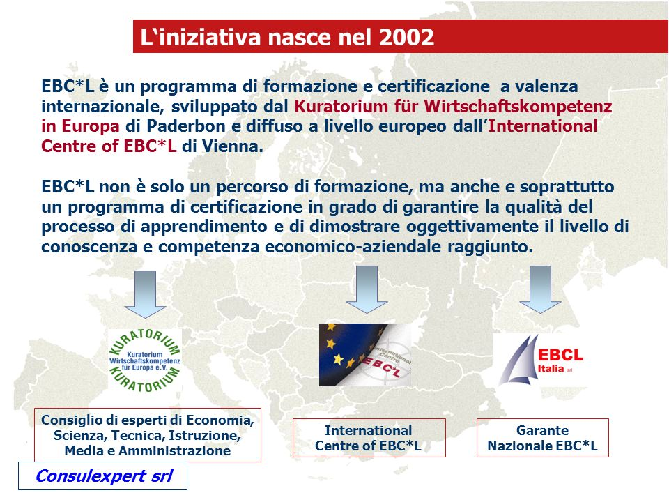 International Centre of EBC*L Garante Nazionale EBC*L