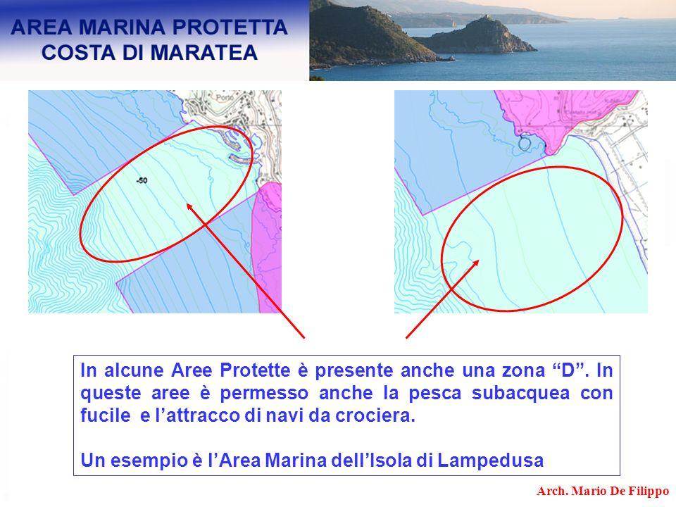 Un esempio è l'Area Marina dell'Isola di Lampedusa