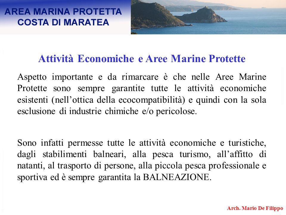 Attività Economiche e Aree Marine Protette