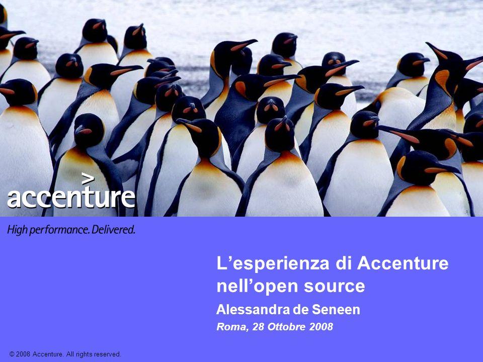 L'esperienza di Accenture nell'open source