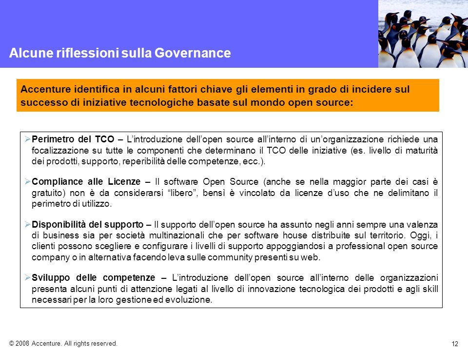 Alcune riflessioni sulla Governance