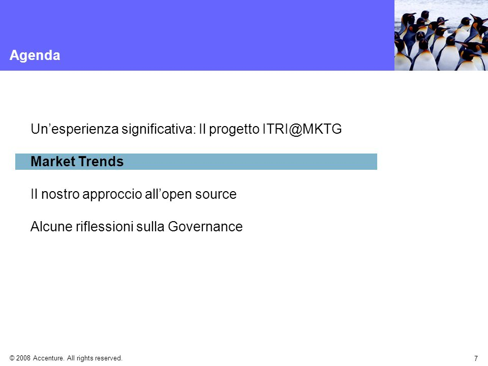 Un'esperienza significativa: Il progetto ITRI@MKTG Market Trends