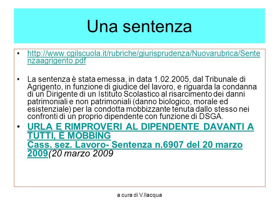 Una sentenza http://www.cgilscuola.it/rubriche/giurisprudenza/Nuovarubrica/Sentenzaagrigento.pdf.