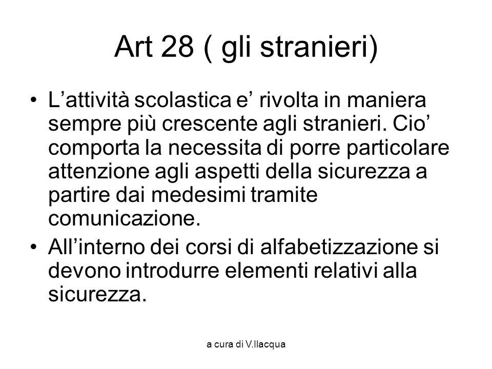 Art 28 ( gli stranieri)