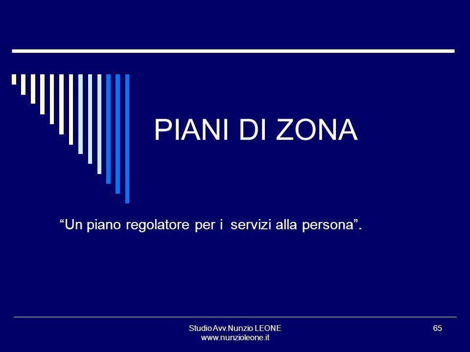 Un piano regolatore per i servizi alla persona .