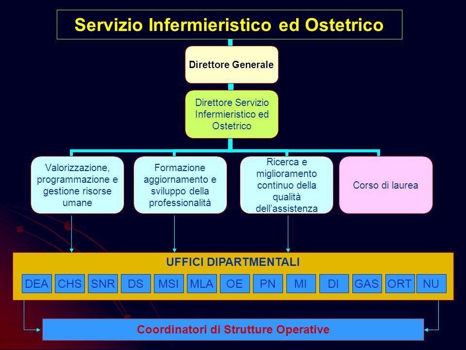 Servizio Infermieristico ed Ostetrico