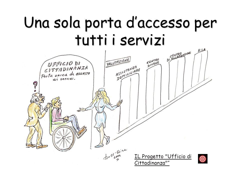 Una sola porta d'accesso per tutti i servizi