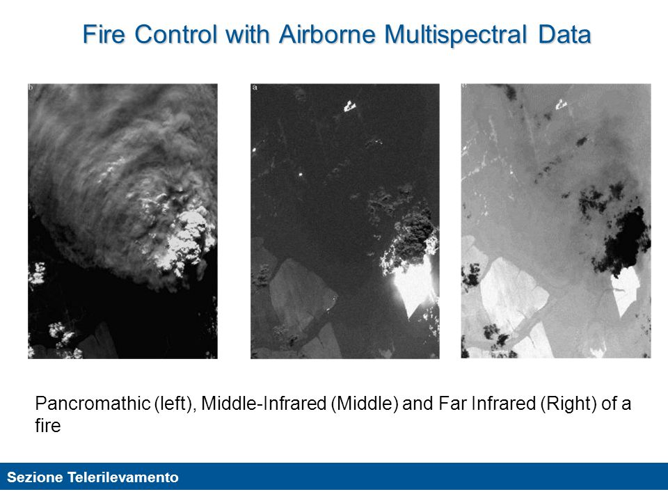 Fire Control with Airborne Multispectral Data