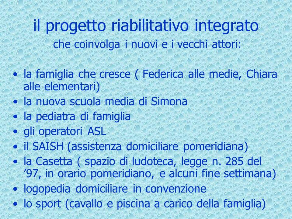 il progetto riabilitativo integrato