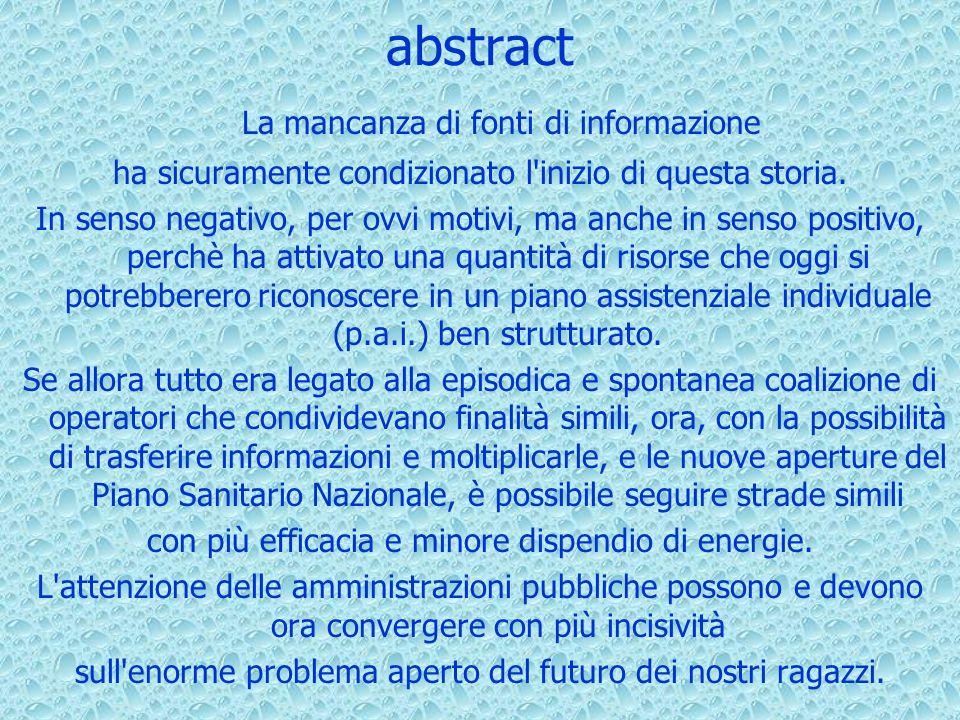 abstract La mancanza di fonti di informazione