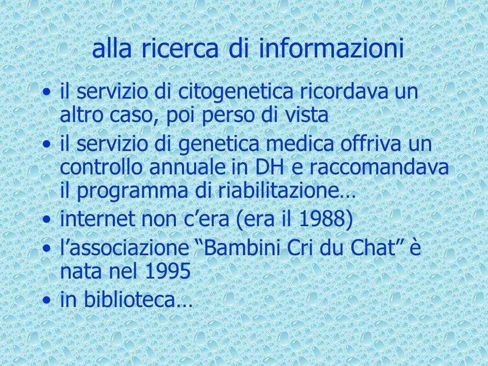 alla ricerca di informazioni