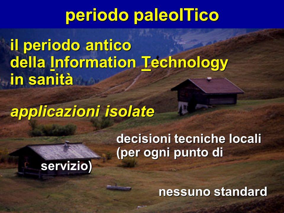 periodo paleoITico il periodo antico della Information Technology