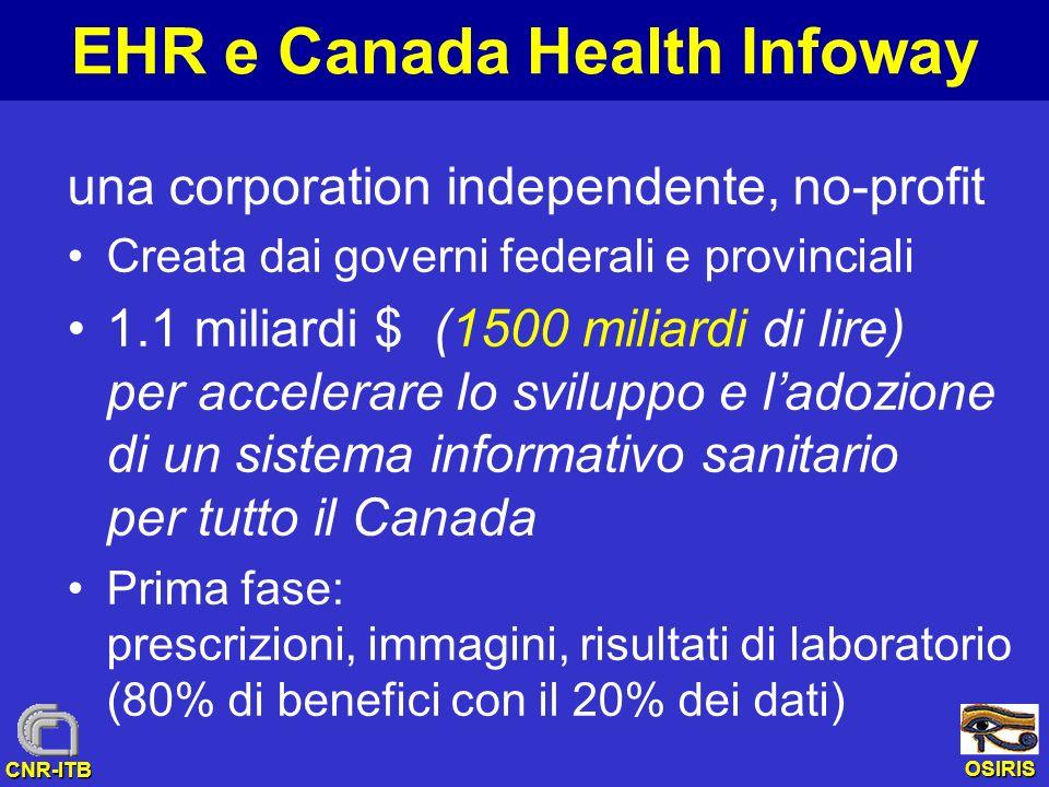 EHR e Canada Health Infoway