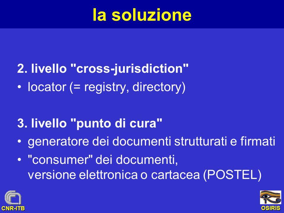 la soluzione 2. livello cross-jurisdiction