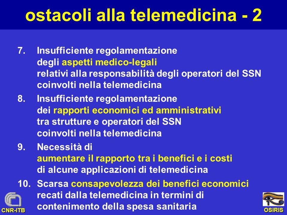 ostacoli alla telemedicina - 2