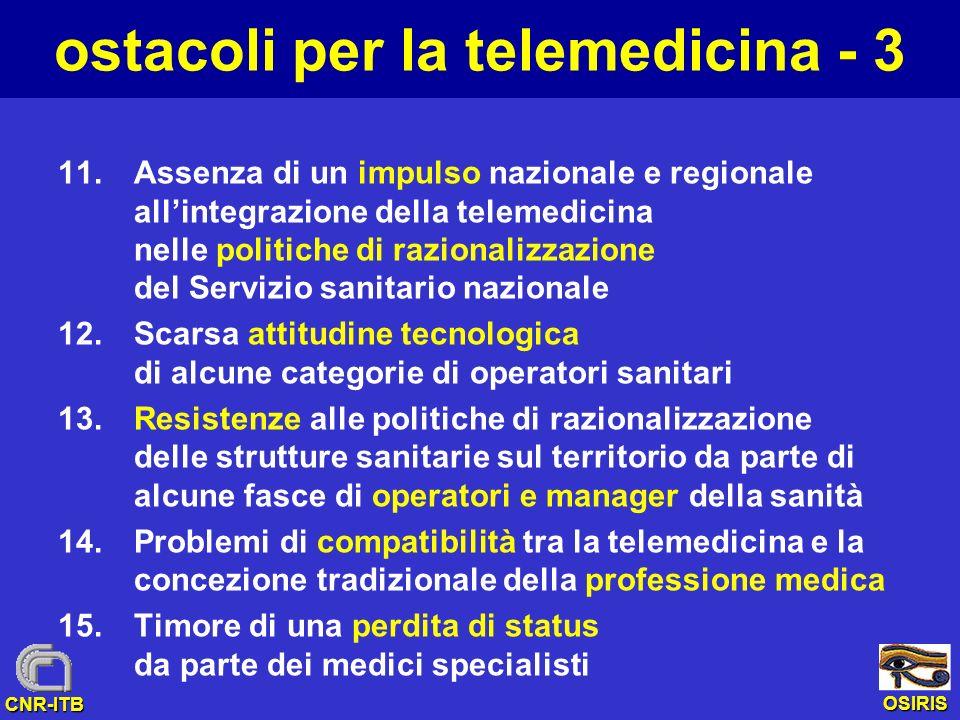 ostacoli per la telemedicina - 3