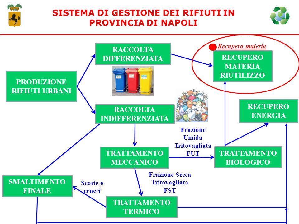 SISTEMA DI GESTIONE DEI RIFIUTI IN PROVINCIA DI NAPOLI